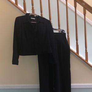 Other - Black Suit Pants and Jacket Sz 8